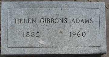 ADAMS, HELEN - Minnehaha County, South Dakota   HELEN ADAMS - South Dakota Gravestone Photos