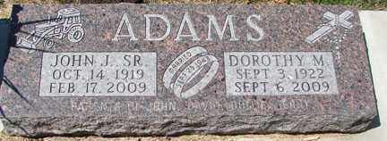 ADAMS, DOROTHY M. - Minnehaha County, South Dakota | DOROTHY M. ADAMS - South Dakota Gravestone Photos