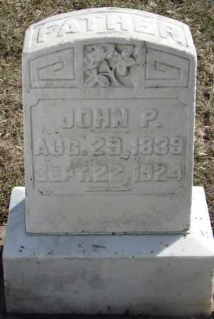 ADAMS, JOHN P. - Minnehaha County, South Dakota   JOHN P. ADAMS - South Dakota Gravestone Photos