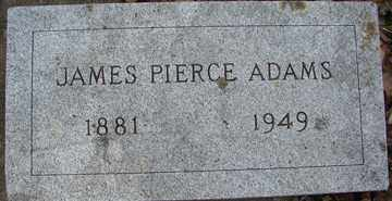 ADAMS, JAMES  PIERCE - Minnehaha County, South Dakota | JAMES  PIERCE ADAMS - South Dakota Gravestone Photos