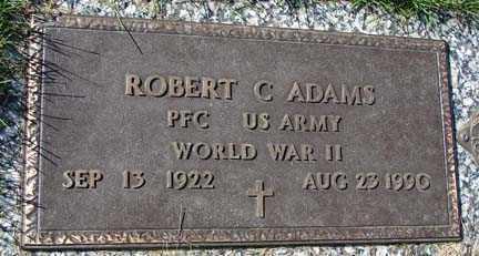 ADAMS, ROBERT C. - Minnehaha County, South Dakota | ROBERT C. ADAMS - South Dakota Gravestone Photos