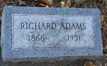 ADAMS, RICHARD - Minnehaha County, South Dakota | RICHARD ADAMS - South Dakota Gravestone Photos