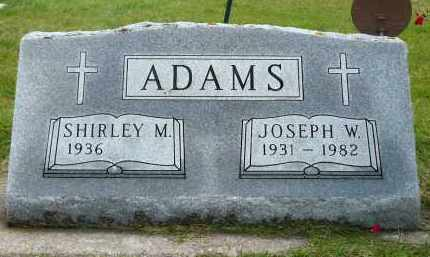 ADAMS, JOSEPH W. - Minnehaha County, South Dakota | JOSEPH W. ADAMS - South Dakota Gravestone Photos