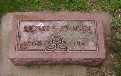 ADAMSON, GEORGE P. - Minnehaha County, South Dakota | GEORGE P. ADAMSON - South Dakota Gravestone Photos