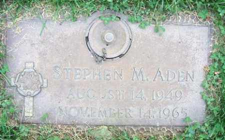 ADEN, STEPHEN M. - Minnehaha County, South Dakota | STEPHEN M. ADEN - South Dakota Gravestone Photos