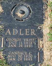 ADLER, CANDACE C. - Minnehaha County, South Dakota | CANDACE C. ADLER - South Dakota Gravestone Photos