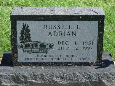 ADRIAN, RUSSELL L. - Minnehaha County, South Dakota | RUSSELL L. ADRIAN - South Dakota Gravestone Photos