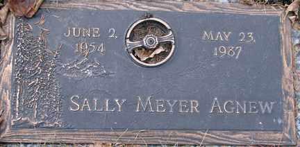 MEYER AGNEW, SALLY - Minnehaha County, South Dakota | SALLY MEYER AGNEW - South Dakota Gravestone Photos