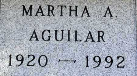 AGUILAR, MARTHA A. - Minnehaha County, South Dakota | MARTHA A. AGUILAR - South Dakota Gravestone Photos
