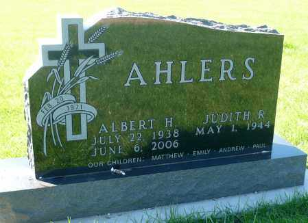 AHLERS, ALBERT HERMAN - Minnehaha County, South Dakota | ALBERT HERMAN AHLERS - South Dakota Gravestone Photos