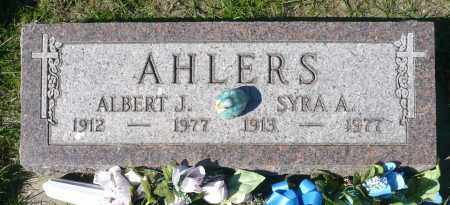ALHERS, SYRA A. - Minnehaha County, South Dakota | SYRA A. ALHERS - South Dakota Gravestone Photos