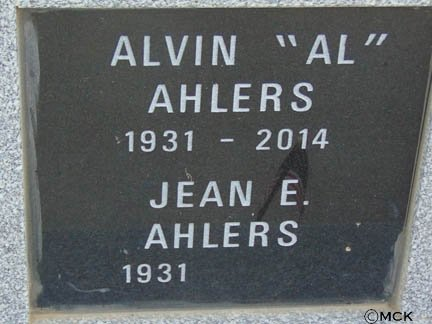 AHLERS, ALVIN - Minnehaha County, South Dakota | ALVIN AHLERS - South Dakota Gravestone Photos