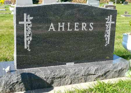AHLERS, FAMILY MARKER - Minnehaha County, South Dakota | FAMILY MARKER AHLERS - South Dakota Gravestone Photos