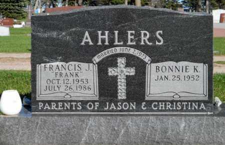 AHLERS, BONNIE K. - Minnehaha County, South Dakota | BONNIE K. AHLERS - South Dakota Gravestone Photos
