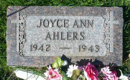 AHLERS, JOYCE ANN - Minnehaha County, South Dakota | JOYCE ANN AHLERS - South Dakota Gravestone Photos