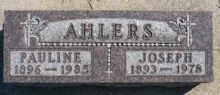 BRICHER AHLERS, PAULINE MARY - Minnehaha County, South Dakota | PAULINE MARY BRICHER AHLERS - South Dakota Gravestone Photos