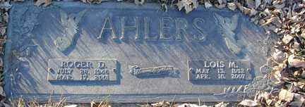 AHLERS, ROGER D. - Minnehaha County, South Dakota | ROGER D. AHLERS - South Dakota Gravestone Photos