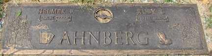 AHNBERG, HELMER - Minnehaha County, South Dakota | HELMER AHNBERG - South Dakota Gravestone Photos