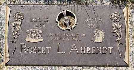 AHRENDT, ROBERT L - Minnehaha County, South Dakota | ROBERT L AHRENDT - South Dakota Gravestone Photos