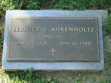AHRENHOLTZ, BERNICE L. - Minnehaha County, South Dakota | BERNICE L. AHRENHOLTZ - South Dakota Gravestone Photos