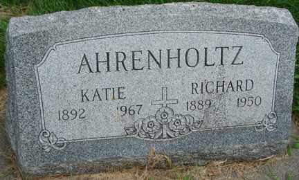 AHRENHOLTZ, KATIE - Minnehaha County, South Dakota | KATIE AHRENHOLTZ - South Dakota Gravestone Photos