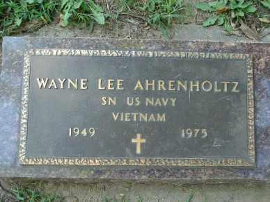 AHRENHOLTZ, WAYNE LEE - Minnehaha County, South Dakota | WAYNE LEE AHRENHOLTZ - South Dakota Gravestone Photos
