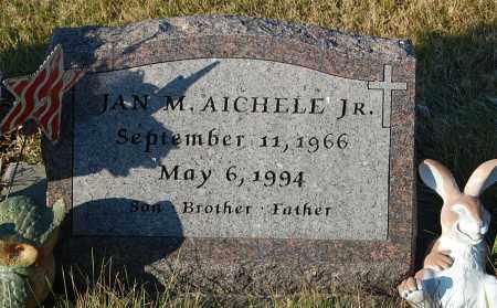 AICHELE, JAN M. JR. - Minnehaha County, South Dakota   JAN M. JR. AICHELE - South Dakota Gravestone Photos