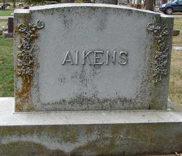 AIKENS, FAMILY MARKER - Minnehaha County, South Dakota | FAMILY MARKER AIKENS - South Dakota Gravestone Photos
