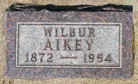 AIKEY, WILBUR - Minnehaha County, South Dakota | WILBUR AIKEY - South Dakota Gravestone Photos
