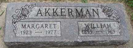 AKKERMAN, WILLIAM - Minnehaha County, South Dakota | WILLIAM AKKERMAN - South Dakota Gravestone Photos