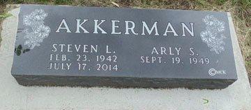 AKKERMAN, ARLY S. - Minnehaha County, South Dakota | ARLY S. AKKERMAN - South Dakota Gravestone Photos