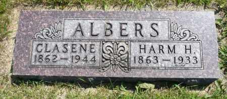 ALBERS, CLASENE - Minnehaha County, South Dakota   CLASENE ALBERS - South Dakota Gravestone Photos