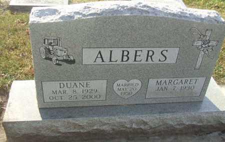 ALBERS, DUANE - Minnehaha County, South Dakota | DUANE ALBERS - South Dakota Gravestone Photos