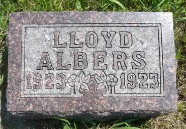 ALBERS, LLOYD - Minnehaha County, South Dakota | LLOYD ALBERS - South Dakota Gravestone Photos