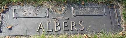 ALBERS, ELVINA V. - Minnehaha County, South Dakota | ELVINA V. ALBERS - South Dakota Gravestone Photos