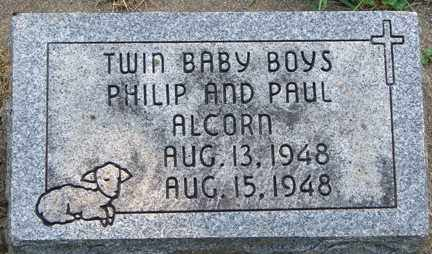 ALCORN, PAUL - Minnehaha County, South Dakota   PAUL ALCORN - South Dakota Gravestone Photos