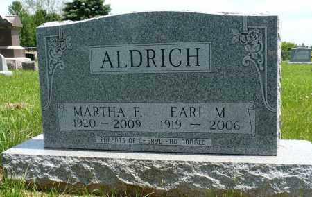 ALDRICH, EARL M. - Minnehaha County, South Dakota | EARL M. ALDRICH - South Dakota Gravestone Photos