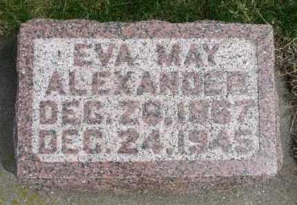 ALEXANDER, EVE MAY - Minnehaha County, South Dakota | EVE MAY ALEXANDER - South Dakota Gravestone Photos