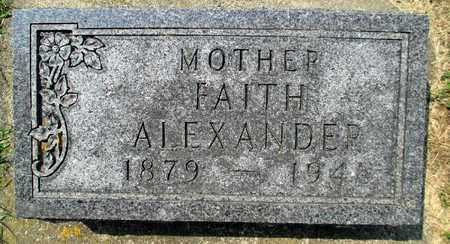 GRAY ALEXANDER, FAITH THURSTON - Minnehaha County, South Dakota   FAITH THURSTON GRAY ALEXANDER - South Dakota Gravestone Photos