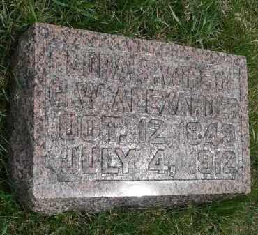 ALEXANDER, FLORA S. - Minnehaha County, South Dakota | FLORA S. ALEXANDER - South Dakota Gravestone Photos