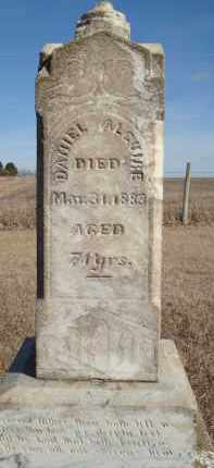 ALGUIRE, DANIEL B - Minnehaha County, South Dakota | DANIEL B ALGUIRE - South Dakota Gravestone Photos