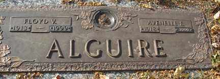 ALGUIRE, AVENELLE ELAIN - Minnehaha County, South Dakota | AVENELLE ELAIN ALGUIRE - South Dakota Gravestone Photos
