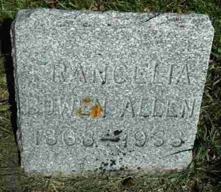 BOWEN ALLEN, FRANCELIA - Minnehaha County, South Dakota | FRANCELIA BOWEN ALLEN - South Dakota Gravestone Photos