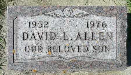 ALLEN, DAVID L. - Minnehaha County, South Dakota | DAVID L. ALLEN - South Dakota Gravestone Photos
