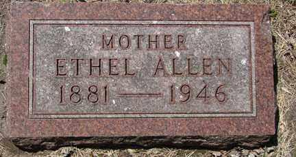ALLEN, ETHEL - Minnehaha County, South Dakota | ETHEL ALLEN - South Dakota Gravestone Photos