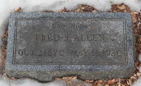 ALLEN, FRED R. - Minnehaha County, South Dakota | FRED R. ALLEN - South Dakota Gravestone Photos