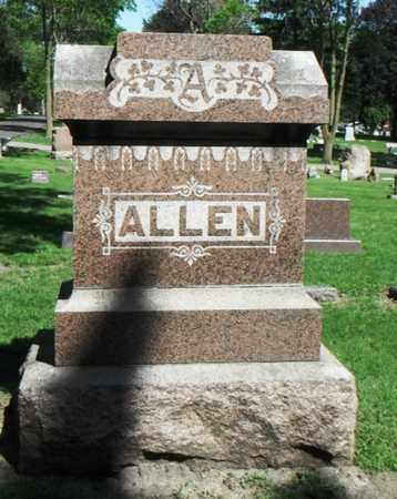 ALLEN, FAMILY STONE - Minnehaha County, South Dakota | FAMILY STONE ALLEN - South Dakota Gravestone Photos