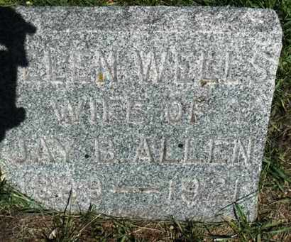 WELLS ALLEN, HELEN RUTH - Minnehaha County, South Dakota | HELEN RUTH WELLS ALLEN - South Dakota Gravestone Photos