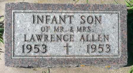 ALLEN, INFANT SON - Minnehaha County, South Dakota | INFANT SON ALLEN - South Dakota Gravestone Photos
