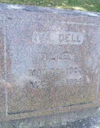 ALLEN, IVA DELL - Minnehaha County, South Dakota | IVA DELL ALLEN - South Dakota Gravestone Photos